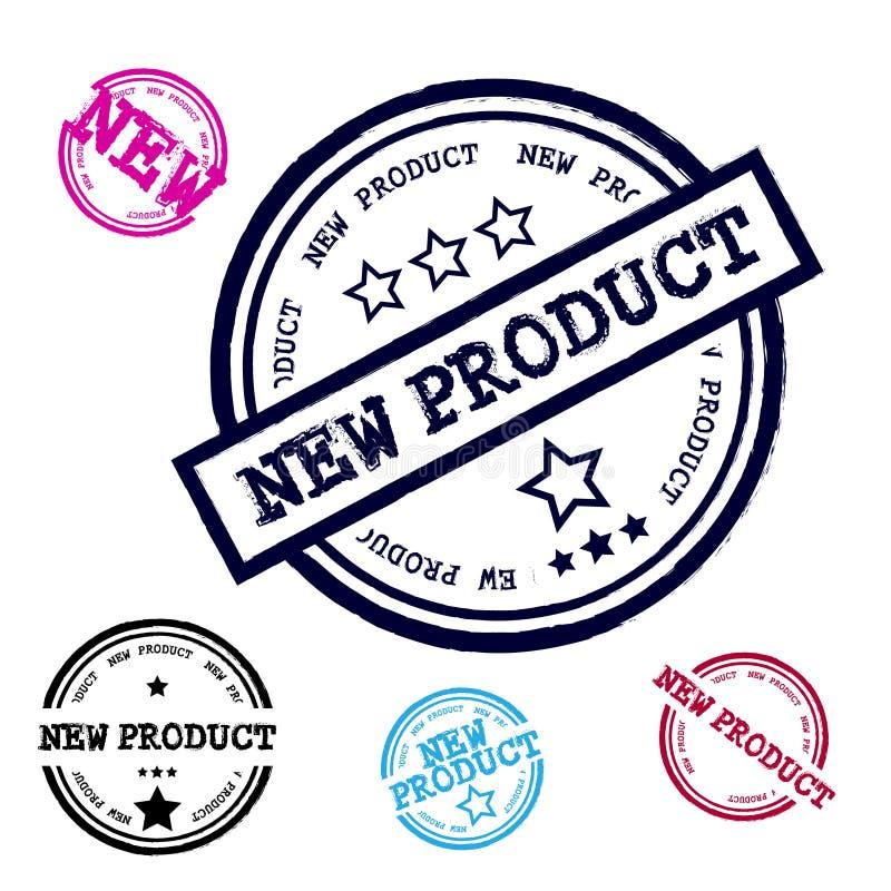 Nowego Produktu Grunge znaczka set ilustracji