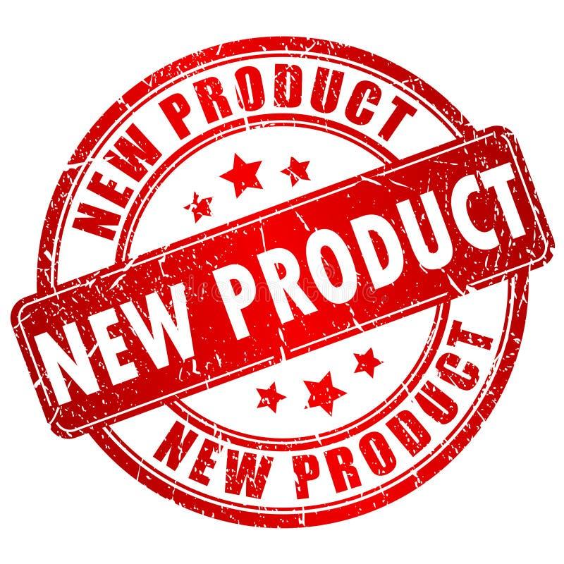 Nowego Produktu wektoru znaczek royalty ilustracja