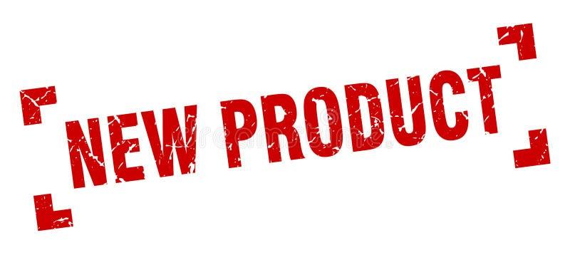 nowego produktu znaczek royalty ilustracja