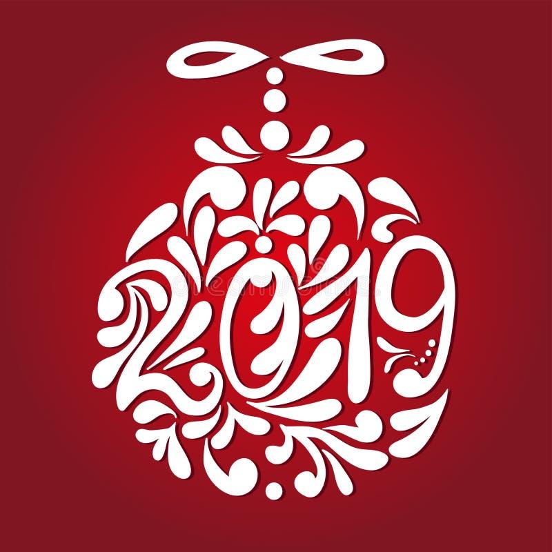 nowego roku karciani boże narodzenia również zwrócić corel ilustracji wektora ilustracji