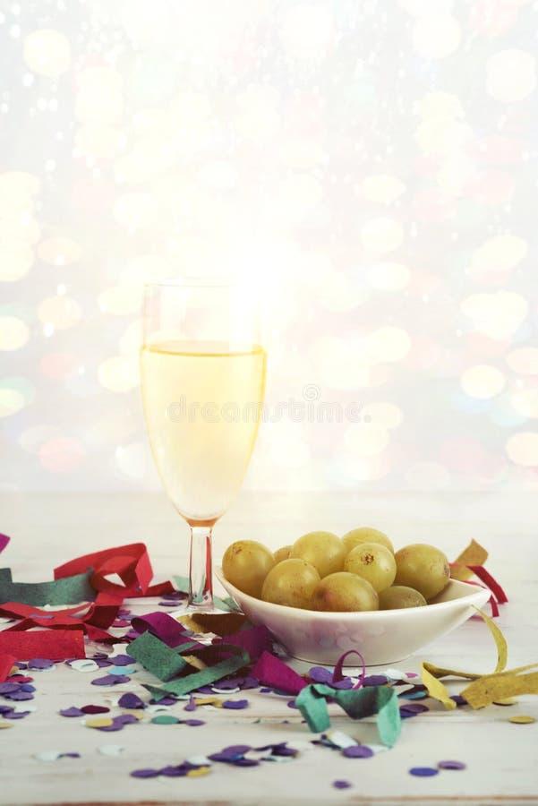 Nowego Roku ` s wigilia obraz stock