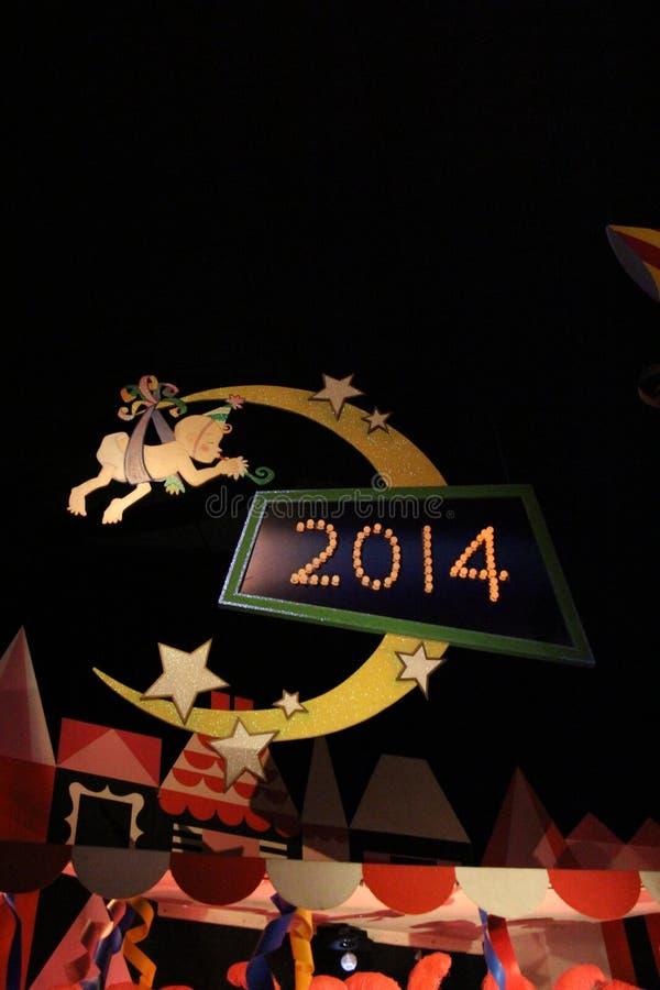 Nowego Roku znak zdjęcia royalty free