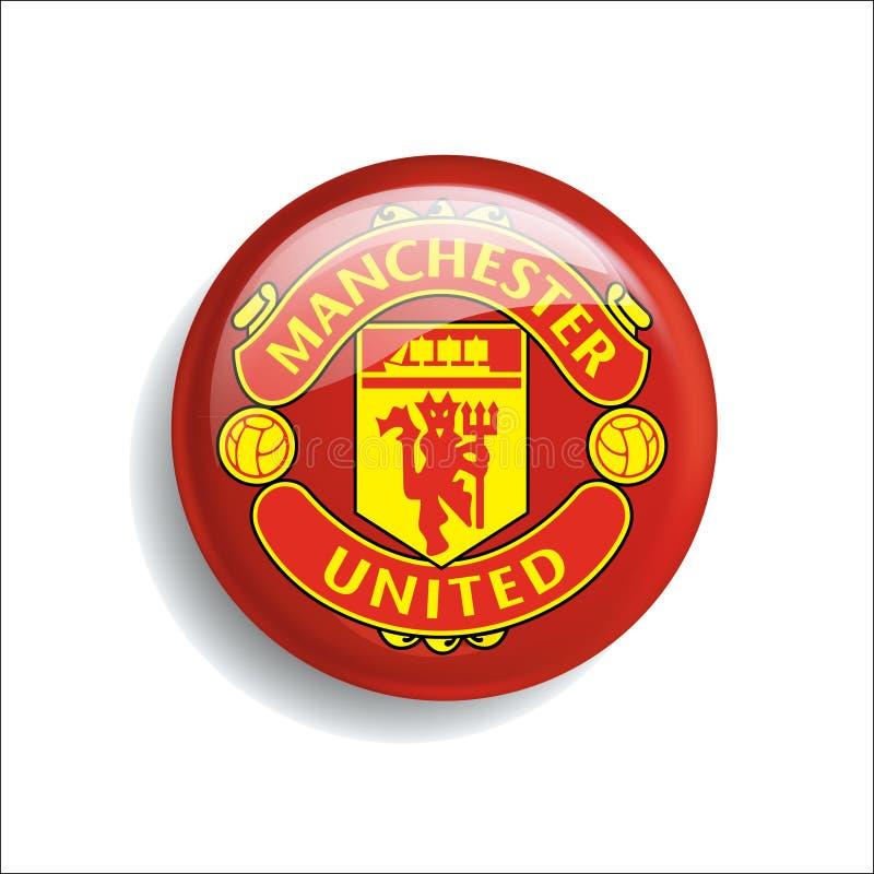 Nowej piłki nożnej logo szablonu futbolowy urzędnik royalty ilustracja