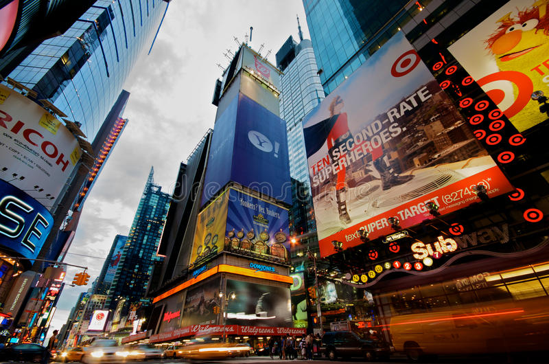 nowi kwadratowi czas York zdjęcia royalty free