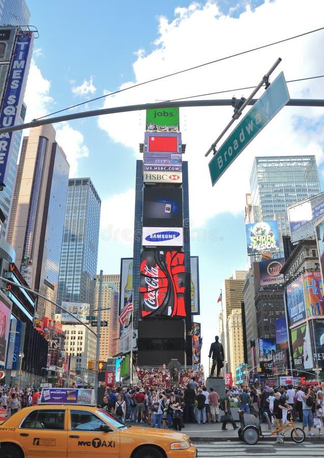 nowi kwadratowi czas York zdjęcie royalty free