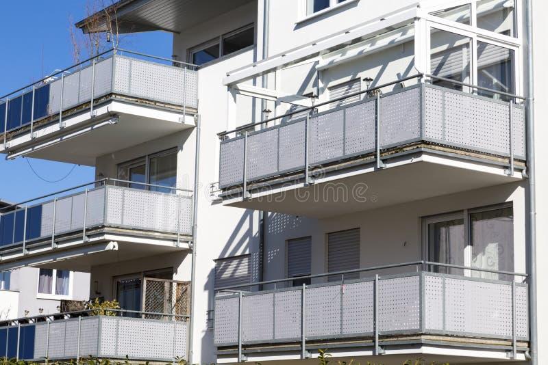 Nowi mieszkania obraz stock