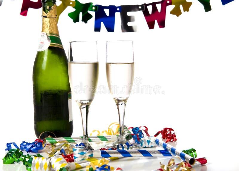 nowi partyjni rok zdjęcia royalty free