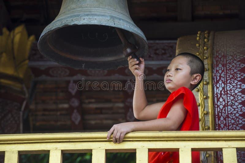 Nowicjusza michaelita w Luang Prabang Laos obraz stock