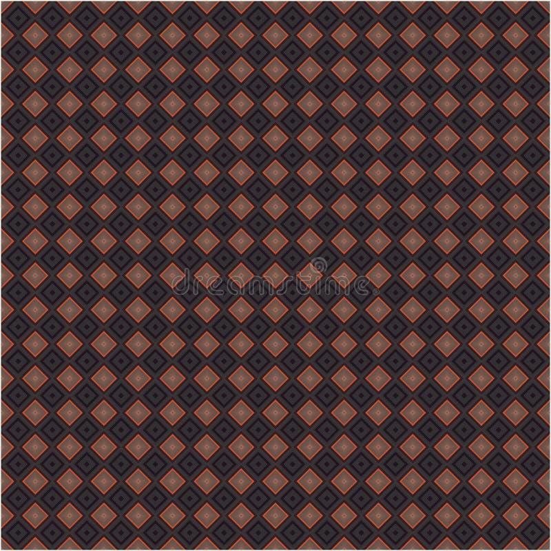 Nowożytna Argyle koloru tkanina Tafluje Wektorowego Retro Bezszwowego tło tekstury wzór royalty ilustracja