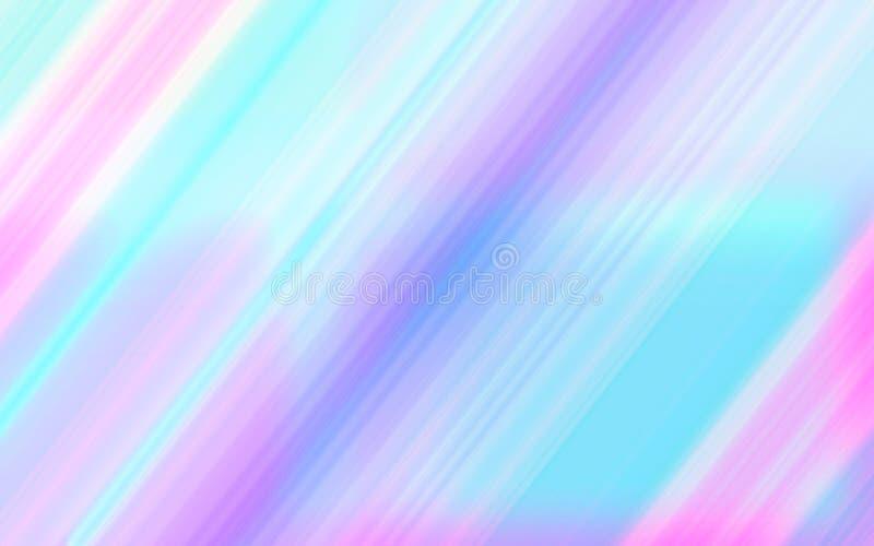 Nowożytny dynamiczny tło z zamazanymi diagonalnymi kolorów lampasami ilustracja wektor