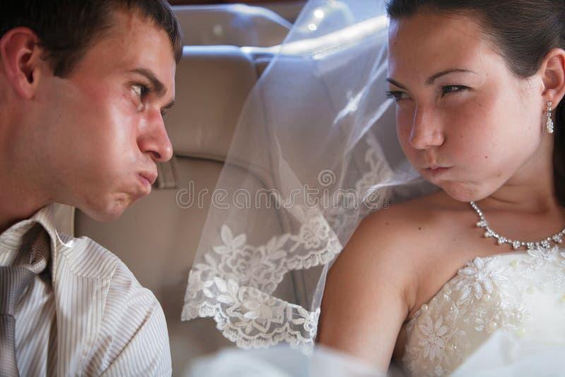 nowożeńcy obrazy stock