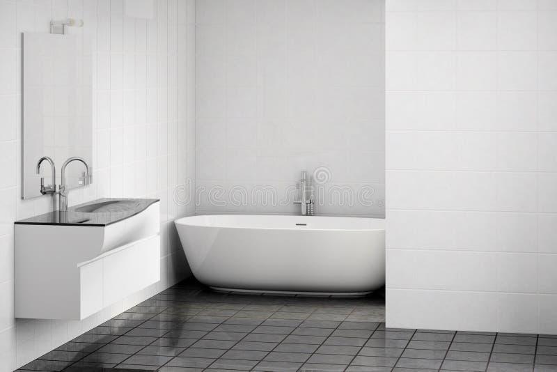 Nowożytna łazienka ilustracji
