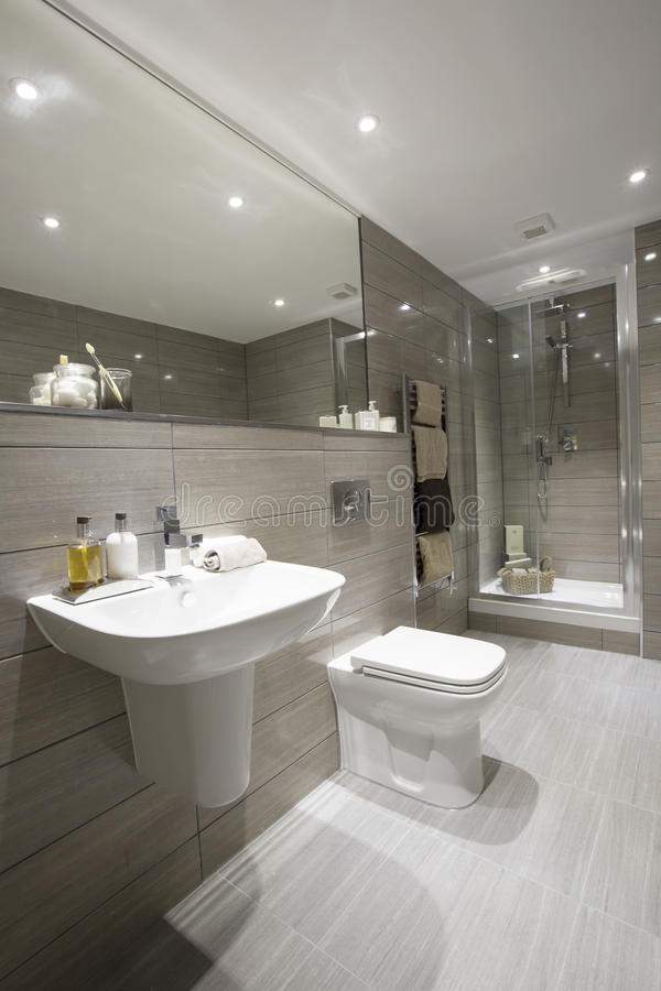 Nowożytna łazienka zdjęcia stock