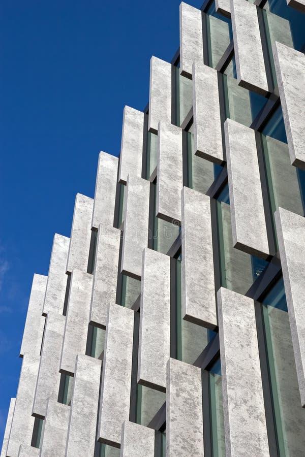 nowożytna abstrakcjonistyczna architektura zdjęcie royalty free
