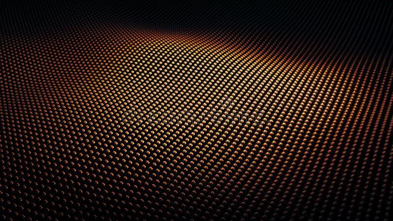 Nowożytna abstrakcjonistyczna brightfiery pomarańcze i czerwieni metalu nawierzchniowa fala ilustracji