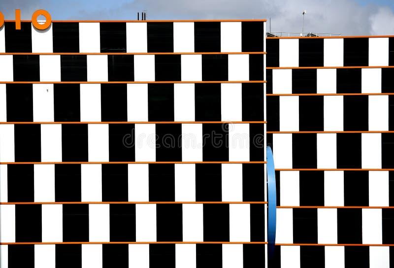 Nowożytna architektura Melbourne obrazy royalty free