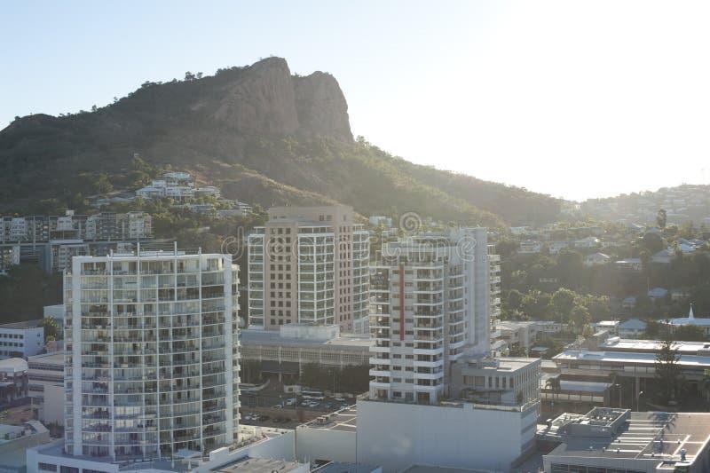 Nowożytna architektura w Townsville, Queensland zdjęcie royalty free