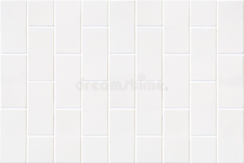 Nowożytna biała cegły mozaika zdjęcie royalty free
