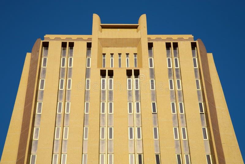 Nowożytna budynek biurowy fasada w Bamako zdjęcie royalty free