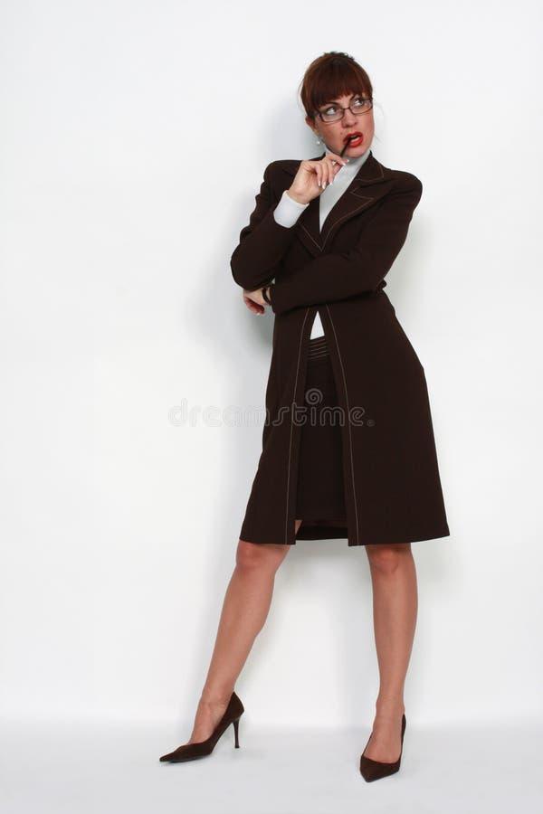 nowożytna Ceo kobieta fotografia stock
