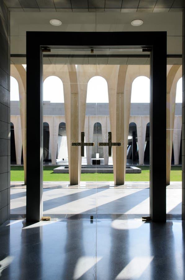 Nowożytna Chrześcijańska architektura obraz royalty free