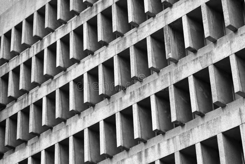 Nowo?ytna czarny i bia?y architektura w Makati zdjęcia stock