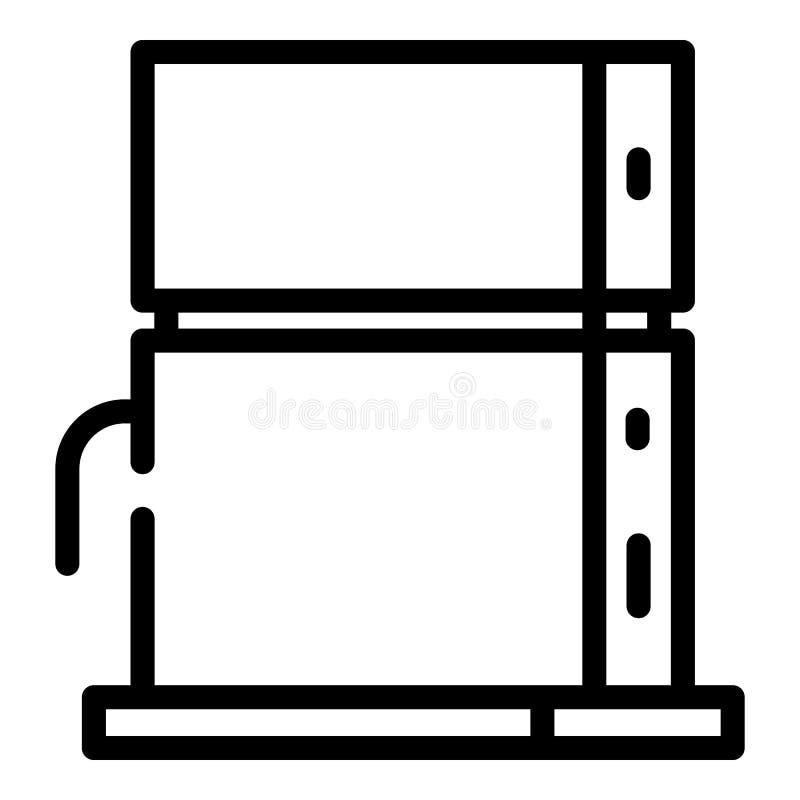 Nowożytna gemowa konsoli ikona, konturu styl ilustracji