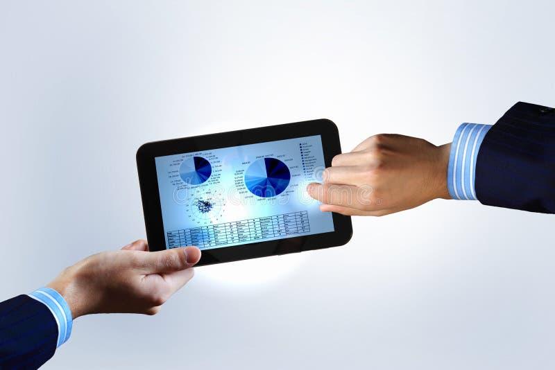 Nowożytna informatyka w biznesie zdjęcie stock
