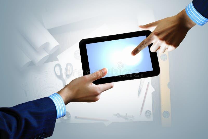 Nowożytna informatyka w biznesie zdjęcie royalty free