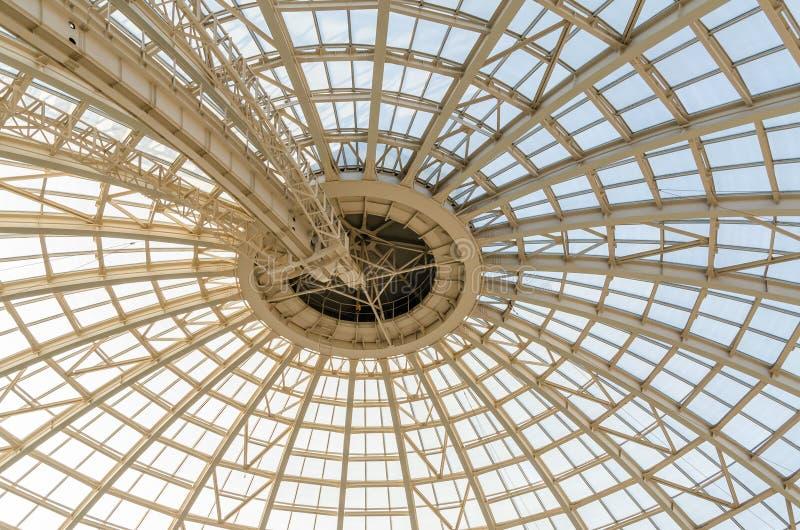 Nowożytna kopuły struktura fotografia royalty free