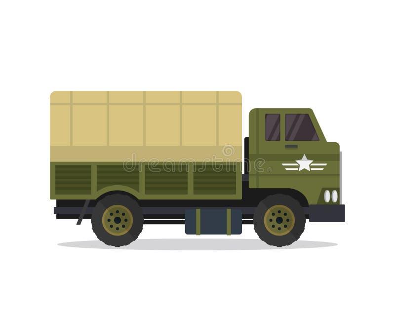 Nowożytna Miastowa pojazd wojskowy ilustracja royalty ilustracja