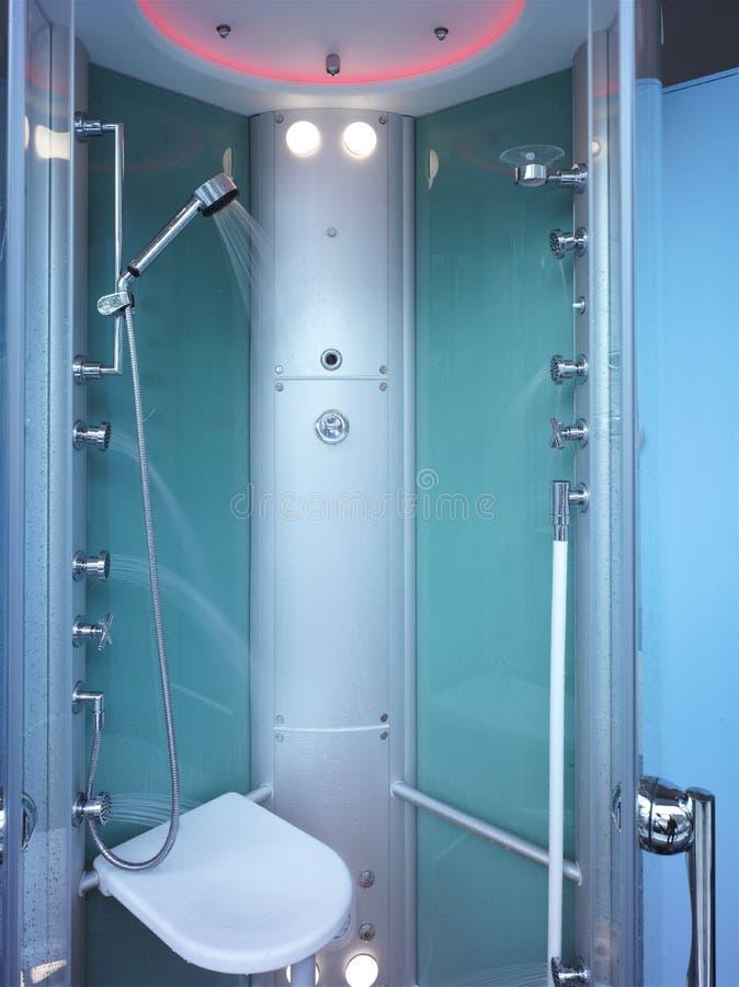 nowożytna prysznic fotografia royalty free