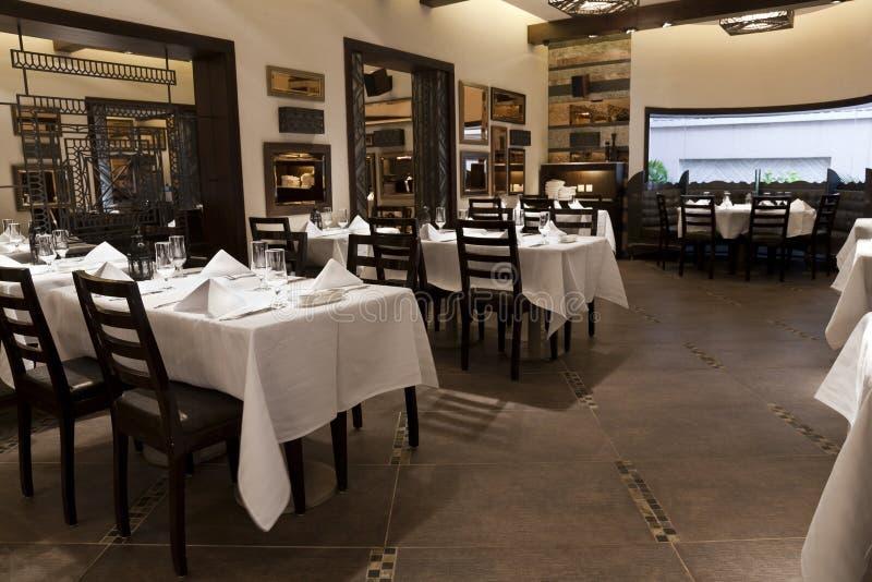 nowożytna restauracja obraz royalty free