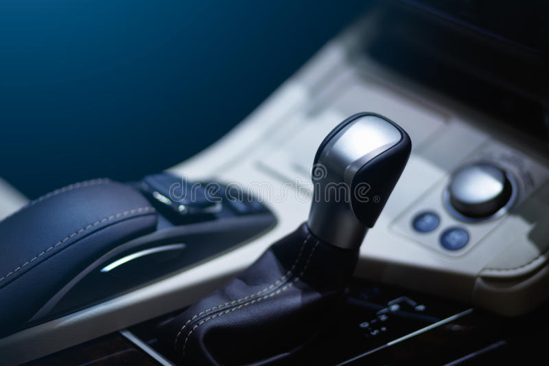 Nowożytna samochodowa przekładnia zdjęcie royalty free