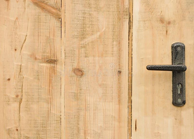 Nowożytna stylowa drzwiowa rękojeść fotografia royalty free