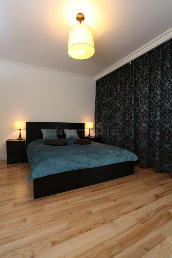 Nowożytna sypialnia fotografia stock
