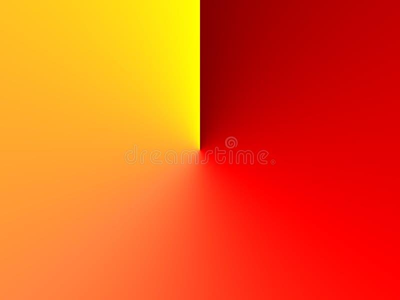 nowożytna tło czerwień ilustracji