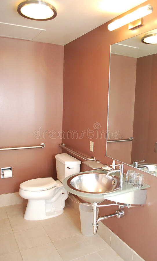nowożytna toaleta zdjęcie royalty free