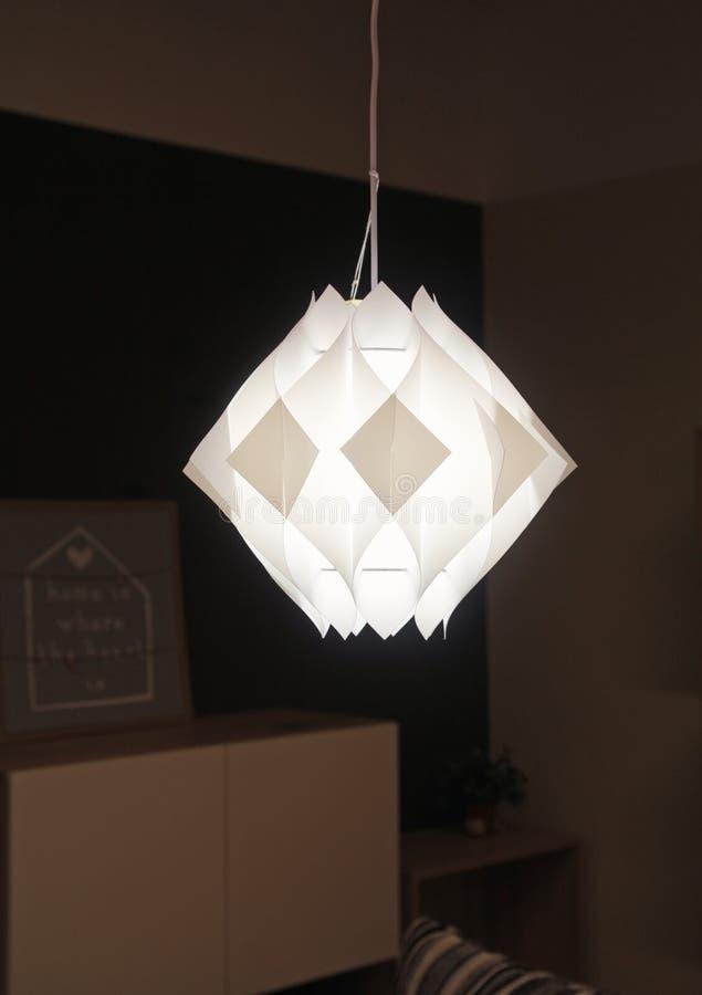 Nowożytne lampy robić kilka plastikowi dyfuzory zdjęcia royalty free