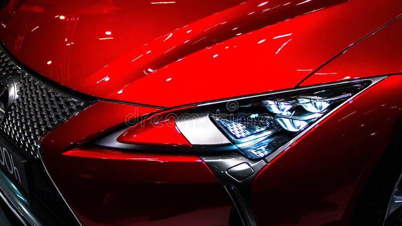 Nowożytne Samochodowe technologie obraz stock