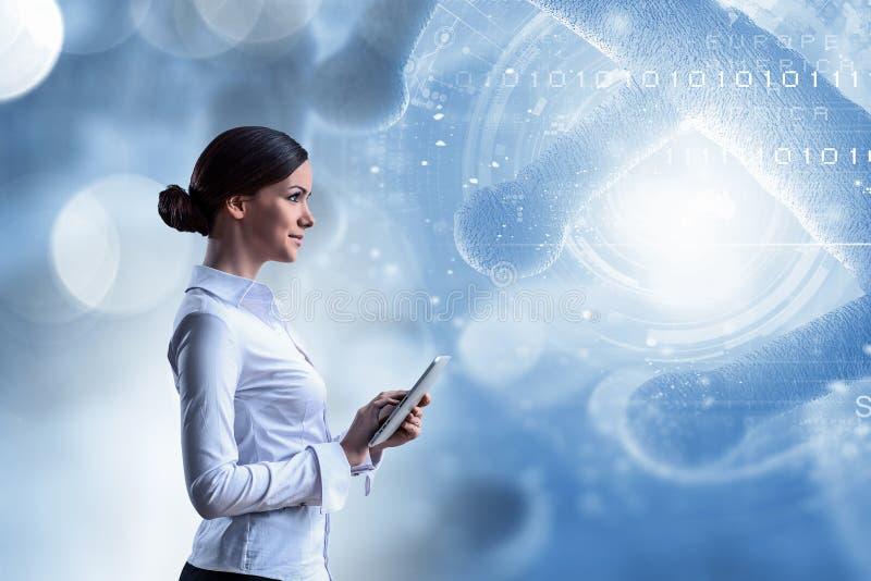 Nowożytne technologie dla nauki Mieszani środki obrazy royalty free