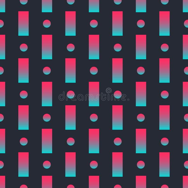 Nowożytnego abstrakcjonistycznego tła geometryczni kształty, wielki projekt dla żadny zamierzają geometryczny wz?r Poj?cie biznes ilustracji