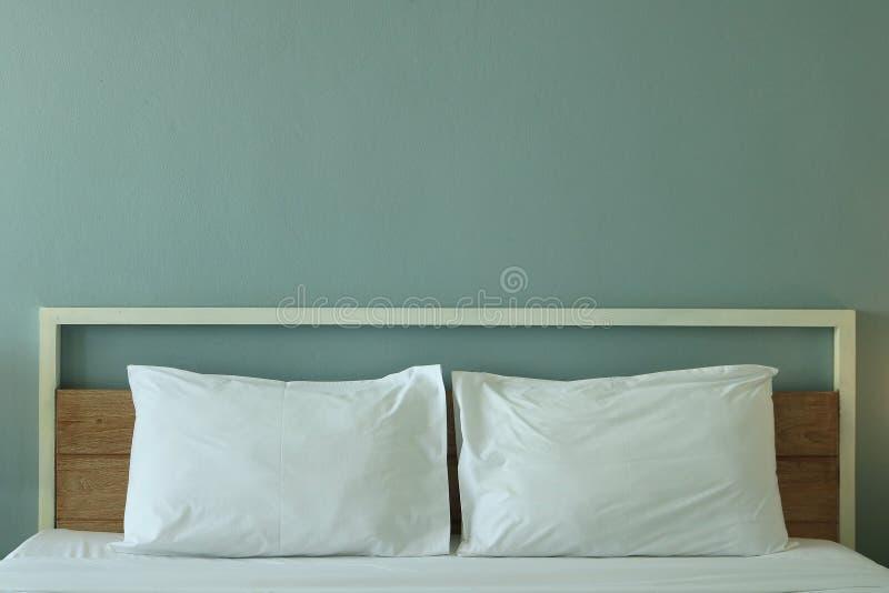 Nowożytnego projekta sypialni wnętrze fotografia royalty free
