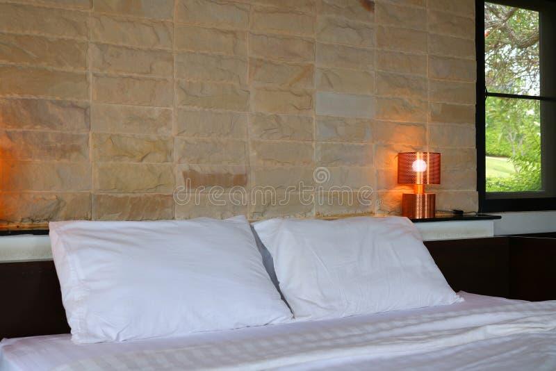 Nowożytnego projekta sypialni wnętrze obraz stock