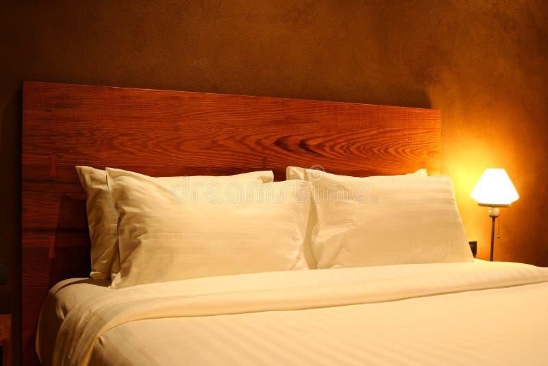 Nowożytnego projekta sypialni wnętrze obrazy royalty free