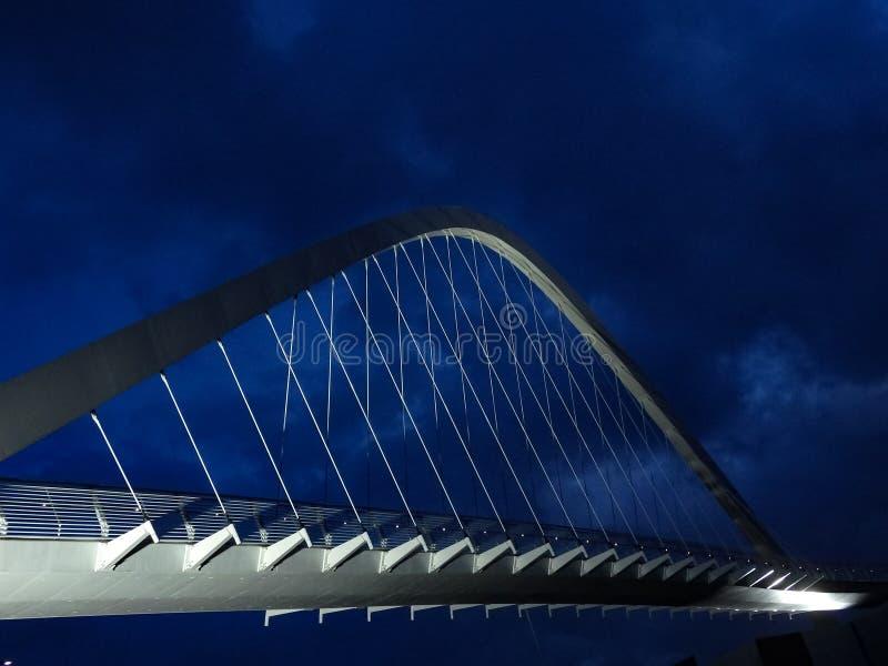 Nowożytnego projekta zwyczajny most zdjęcie royalty free