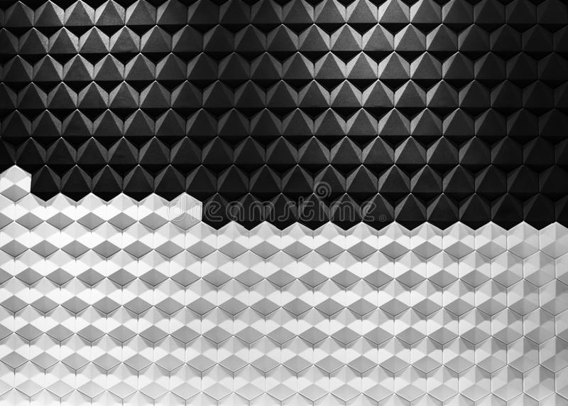 Nowożytnej architektury czarny i biały stal, architektoniczny projekt, architektury tła pojęcie obrazy stock