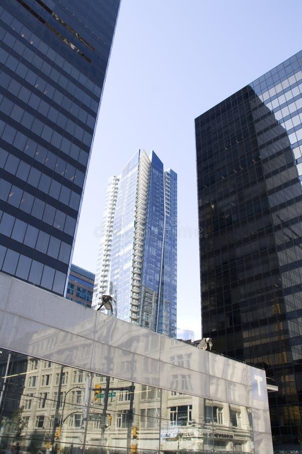 Nowożytni budynki biurowi zdjęcie royalty free