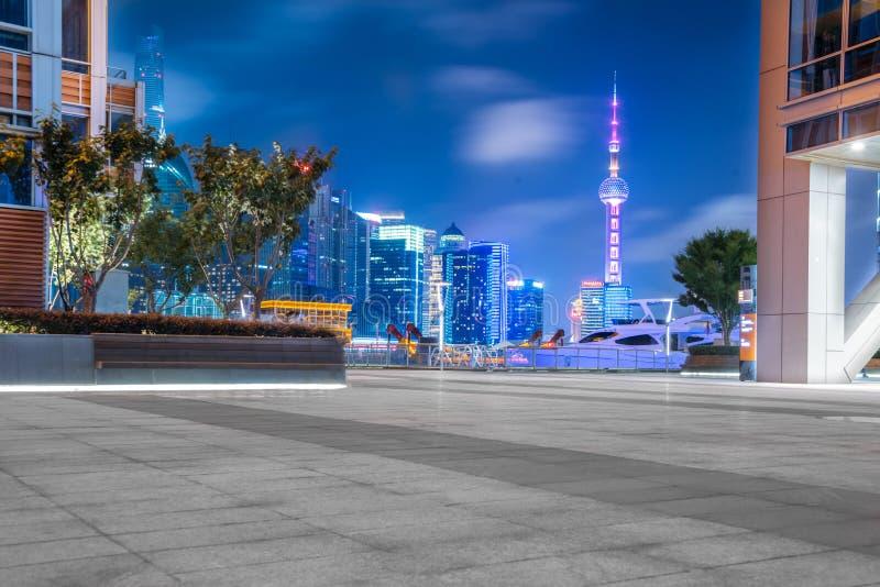 Nowożytni budynki w miastach, Chiny fotografia stock