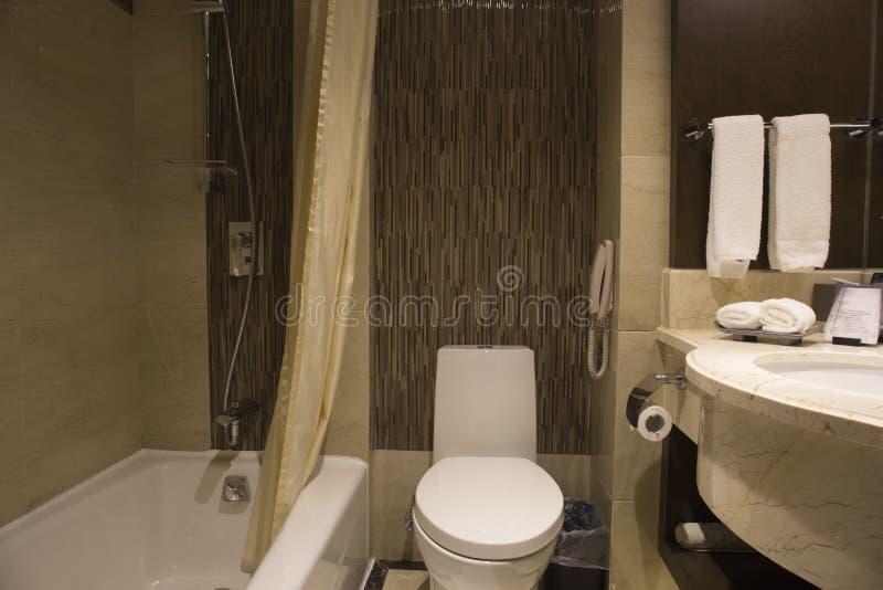 Nowożytny łazienka układ zdjęcia royalty free